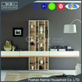 foshan supplier modern style wood book storage shelf