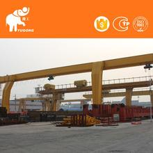 Economic Prices 90Ton Speed Use Manual Simple Gantry Crane Prices For Gate Lifting