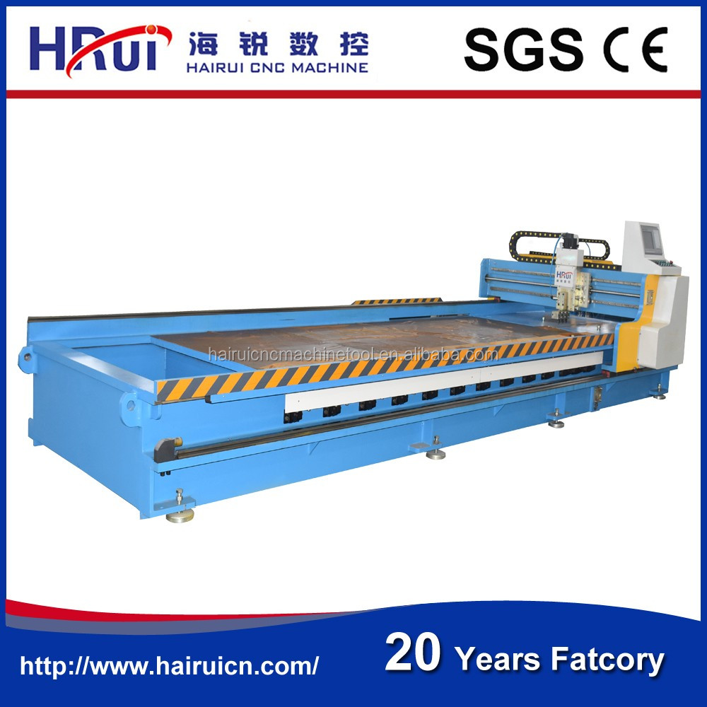 4*4000mm stainless steel CNC Pneumatic v-groove steel cutter ,bender, machine, V piercing machine