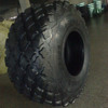 Multi-purpose diamond pattern agricultural tire 715/80/32 R-3 compactor tire