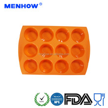 Hot Selling Reusable Baking & Pastry Tools silicone cupcake mould cake decorating tools