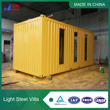 10 Years Factory Price Sandwich Panel Modular Cool Steel House