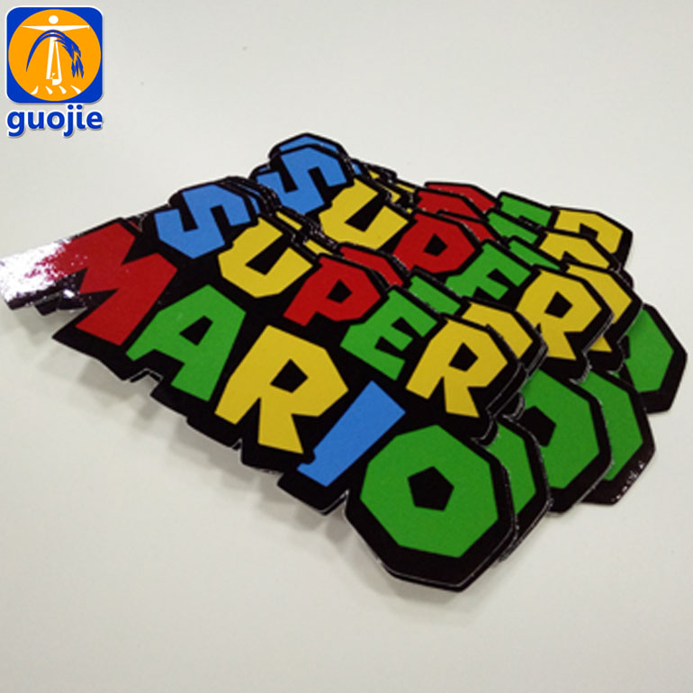 custom design cutting decoration printing adhesive pvc vinyl wall cartoon car stickers machine