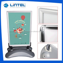 Poster stand water filled durable base pavement sign board LT-10G2