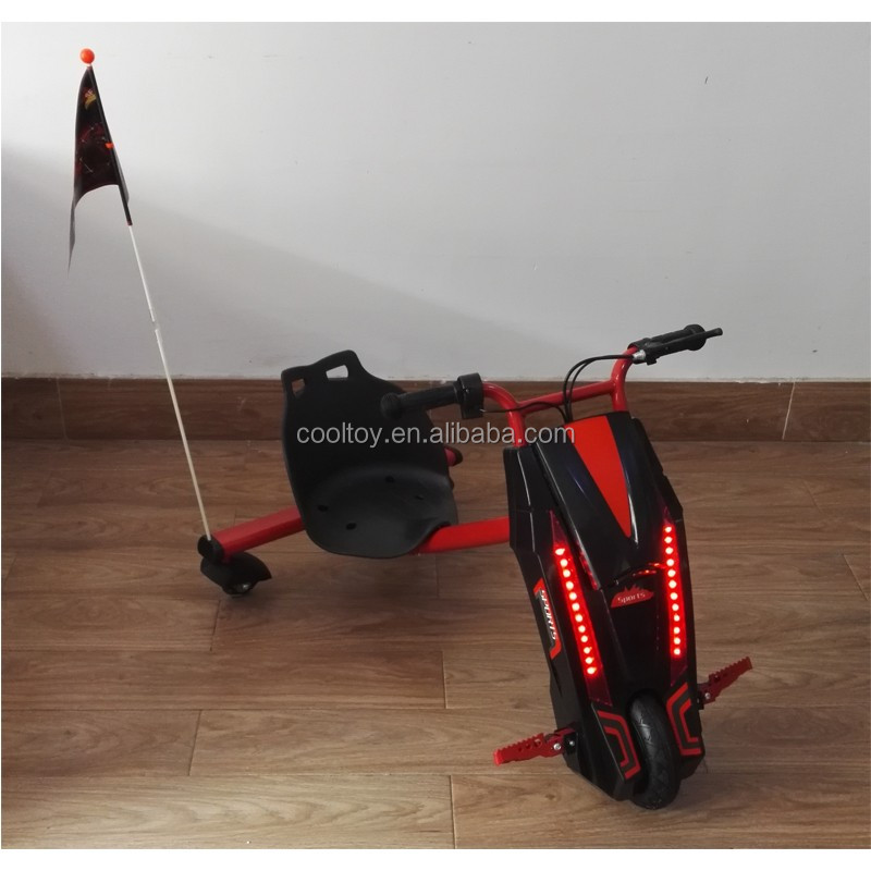 Cooltoy 24V150W Kids 3 Wheels Drifting Scooter Electric Scooter With LED light