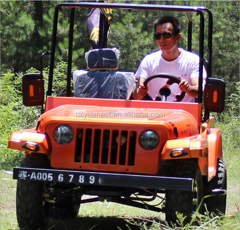 China 200cc 4*4 off road go kart/mini willys jeep cheap for sale