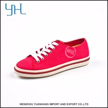 New Style Factory Directly Provide Canvas Shoes For Kids