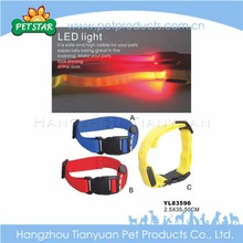 Cheap advertising hot sales flashing led cat collar