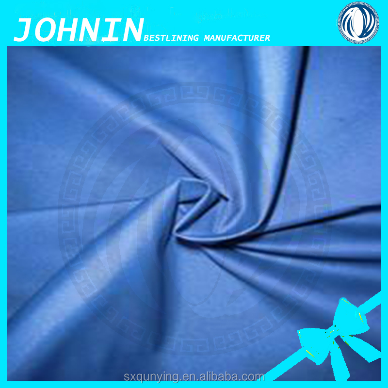 100% polyester coated raincoat fabric 190t polyester taffeta waterproof silver coated raincoat material/car cover/tent/umbrella