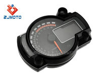 ZJMOTO export motorcycle parts best sell of China supplier universal Digital motorcycle speedometer electronic meter