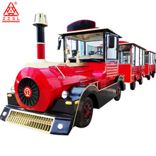 Tourist train factory commercial electric ride on diesel electric train