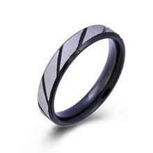 Wholesale Custom New Design Finger Ring Beautiful Black Mans Ring