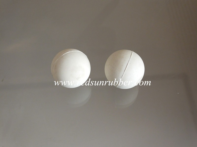 white EPDM 30mm ball