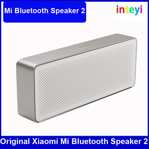 Original Xiaomi Mi Bluetooth Speaker Square Box 2 Stereo Portable Wireless MP3 Music Player for Smartphones and Computer