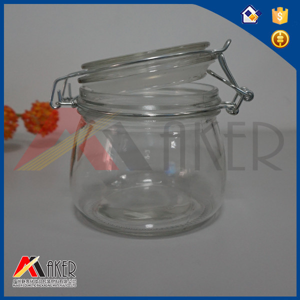 Flip lid glass storage containers