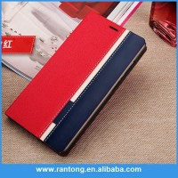Hot selling strong packing retro book shape leather phone case made in china
