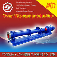 Single Screw Thick Slurry Pump