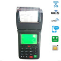 3G WIFI Portable food delivery pos thermal printer for receiving orders form phone or website