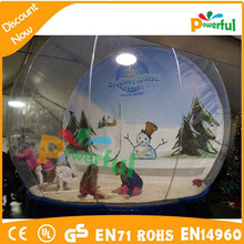 Popular Transparent bubble snow globe outdoor inflatable