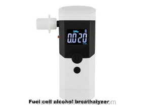Fuel cell sensor type Digital display alcohol breath tester breathalyzer