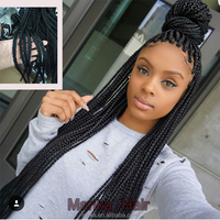 Havana mambo twist crochet braid hair extensions afro kinky synthetic braiding hair jumbo crochet box braids