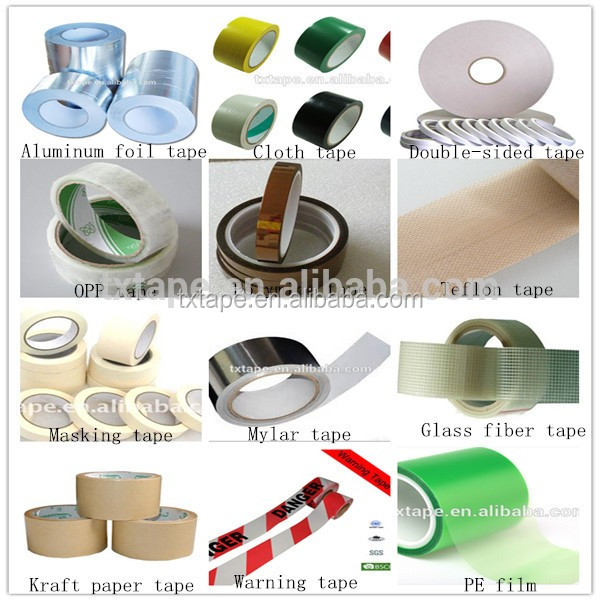 free sample Double Sided Adhesive Tissue Tape with hotmelt and solvent glue