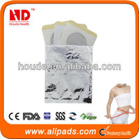 2013 hot sale botanical slimming patch