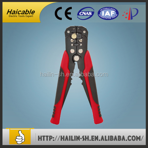 HS-050 Hot sale wholesale manual wire stripping tool no need any adjustment cutter piler easy operation