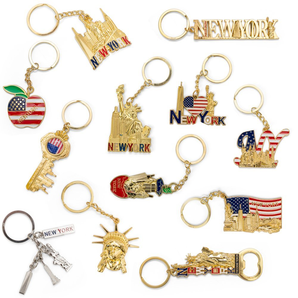 Promotion nyc souvenir keychain