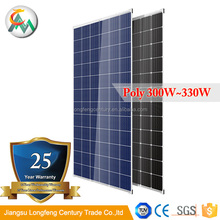 Top sale!!! Polycrystalline solar cell 156x156mm 72 cell Poly 330W solar panel price