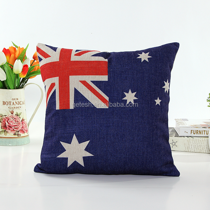 Throw Pillow Bulk : Wholesale Daily Use Items Decorative Linen Flag Pillow Case - Buy Decorative Pillows,Cute Pillow ...