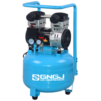 40L Silent portable dental unit oil free air compressor for medical