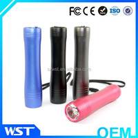 High hand lamps mobile portable power bank 2600mah