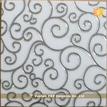 300x300mm Residential Ceramic Pictures Of Carpet Tiles For Floor