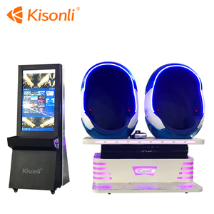 Cheap Price Virtual reality 9D VR egg cinema simulator vr chair roller coaster motion ride with 360 degree games for india
