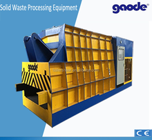 automatic scrap metal container shear