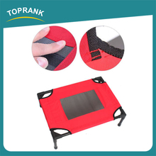 High quality outdoor elevated steel pipe metal frame dog bed