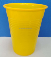 7oz/200ml colorful disposable pp plastic cups
