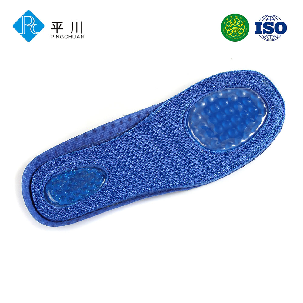 Kid silicone gel shoe insoles for children factory price