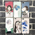 New Design For Lady beautiful art and romantic TPU case for iphone 7/7 Plus
