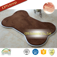 Soft fleece bone pet mat bedding pet leather bed
