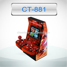 8 bit handheld game player two joystickers best gift for kids
