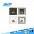 aluminum multimedia faceplate hotel wall socket bluetooth/hotel audio and video system