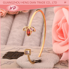 free sample fashion new model 22k gold covering bangles