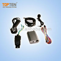 GPS vehicle tracker, mini size with external antenna, get location by SMS TK108