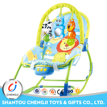 High quality moving baby rocker chair with music