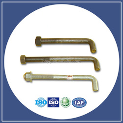 Supply anchor bolt m16 m20 m36 cross arm bolts/anchor eye bolt with nuts