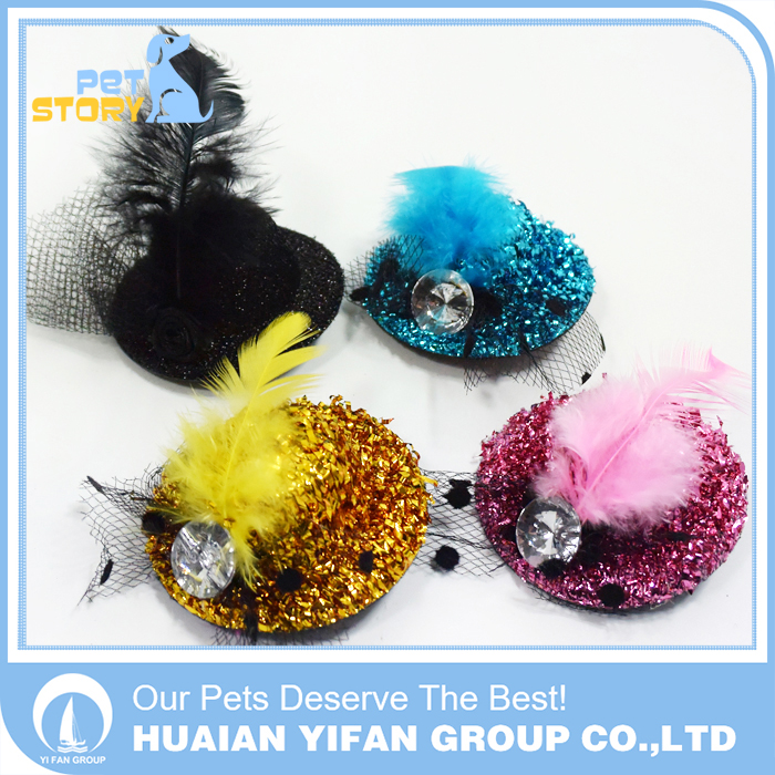 Pet accessories wholesale China cute pet dog cat hat for sale