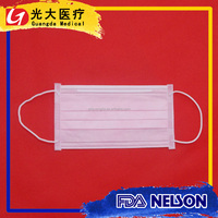 3 ply disposable face mask for flour mills