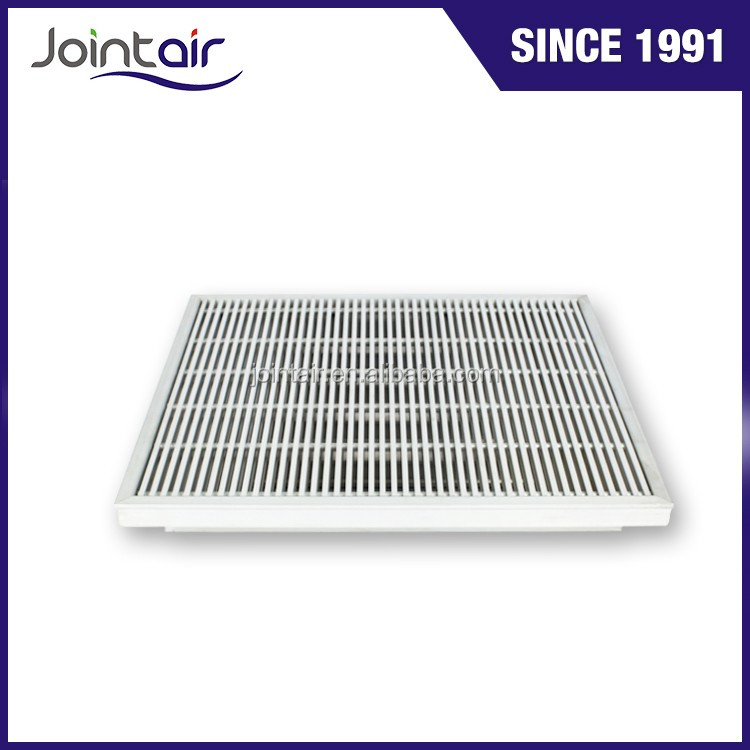 Aluminum Floor Return Air Vent Grilles